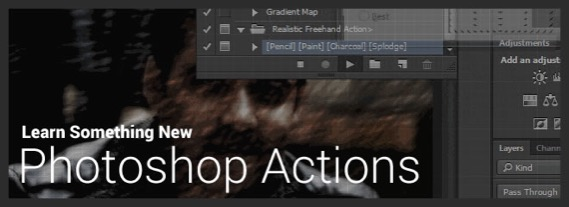 Photoshop Actions : What Is It, How to Install and Use It
