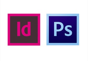 Photoshop VS InDesign: 
