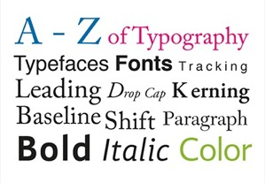 The A to Z of Typography
