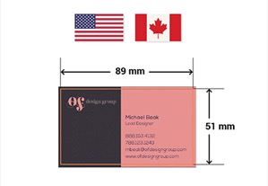 The Ultimate Design Guide to Standard Business Card Sizes