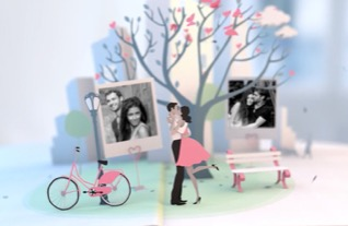 Top 10 Romantic Adobe After Effects Slideshow Templates